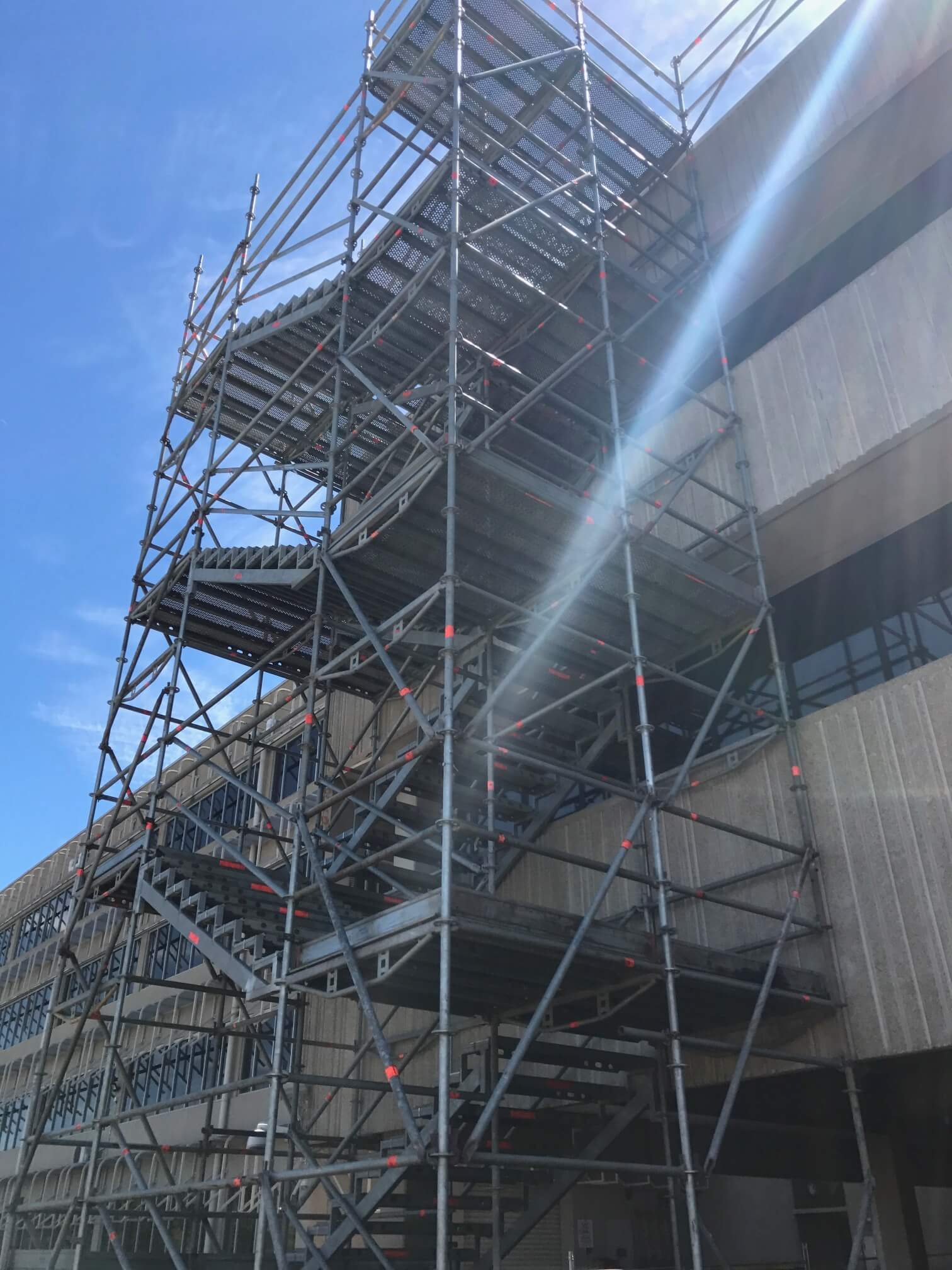 O&M Scaffold project at Port of Sale redevelopment